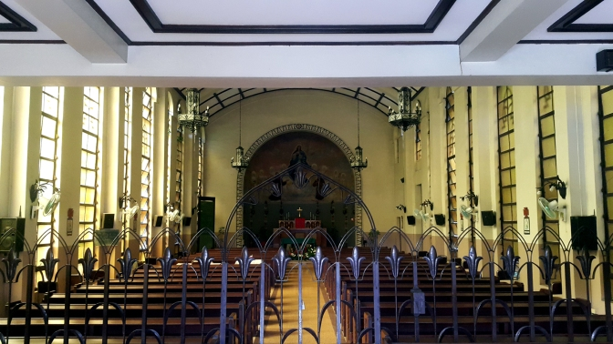 1955 Stella Maris College Chapel, Altar