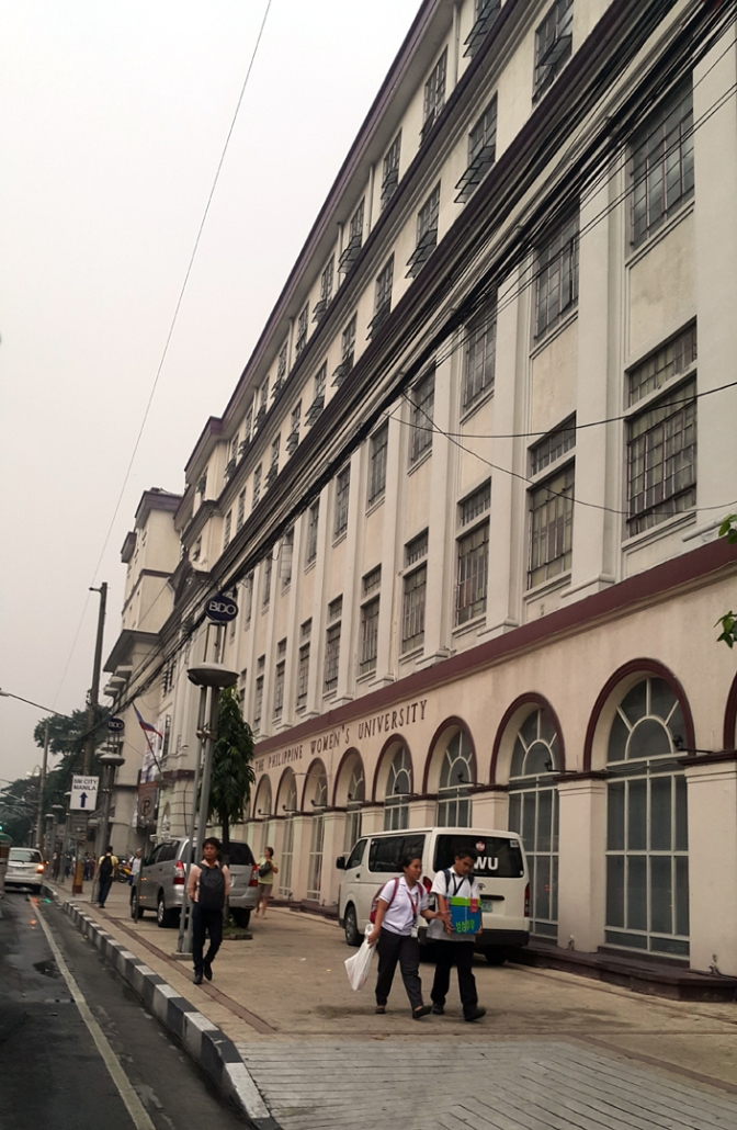 05 1919 Philippine Women's University, Taft Avenue, Manila