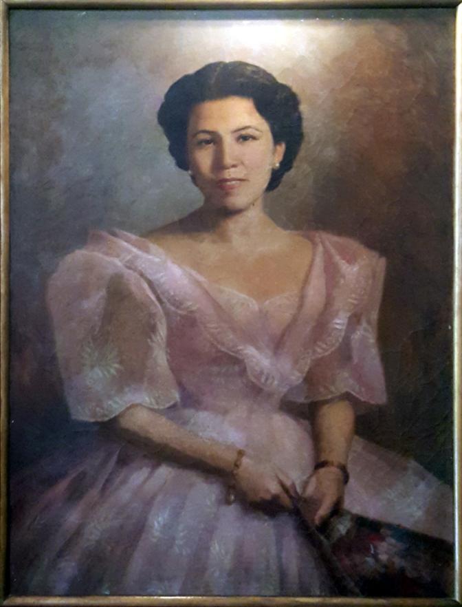 12 1953 Helena Zoila Tirona Benitez by Fernando Amorsolo