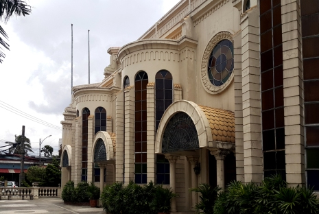 1949-50 Immaculate Conception Cathedral, South Façade