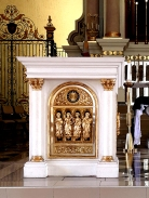 1949-50 Immaculate Conception Cathedral, Altar Lectern