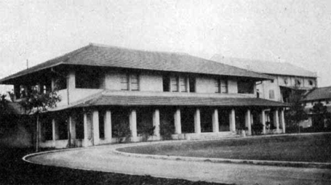 1903-1907 Cathedral of St. Mary and St. John Bishop's residence and Columbia Club, Manila