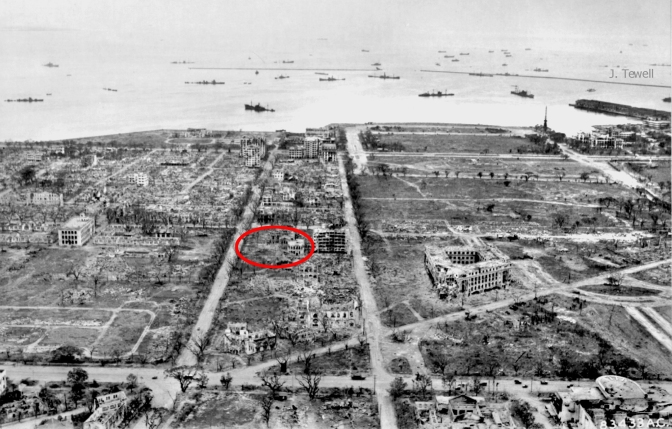 03 1945 Destruction of Manila, Cathedral of St. Mary and St. John