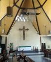 1960s John Van Wie Bergamini - St. Andrew's Chapel, Altar and Nave