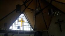 1960s John Van Wie Bergamini - St. Andrew's Chapel, Stained Glass Window