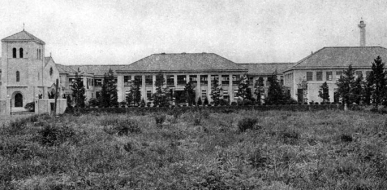 1932 St. Margaret's School, Tokyo, Chapel, Administration, Classroom, Auditorium, Music and Art buildings