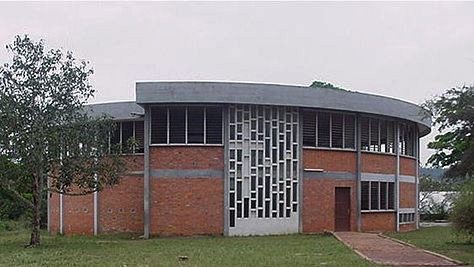 1964 Chapel of St. Peter's Boys Senior Secondary School in Nkwatia Kwahu, Eastern Region of Ghana