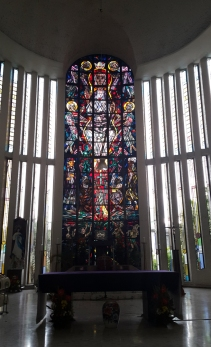 1965 Shrine of Jesus, The Divine Word - Altar, Stained Glass