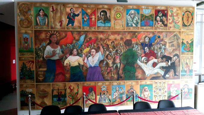 14C 2008 Baraha ng Buhay Pilipino (Mural for PETA's 40th Anniversary)