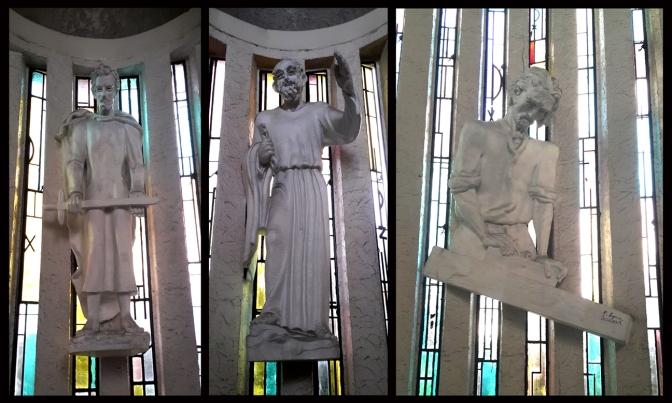15A P. Lynn - North Apse, Saint Paul, Saint Peter and Saint Joseph