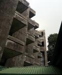 1962 Mater Dei Auditorium, Facade