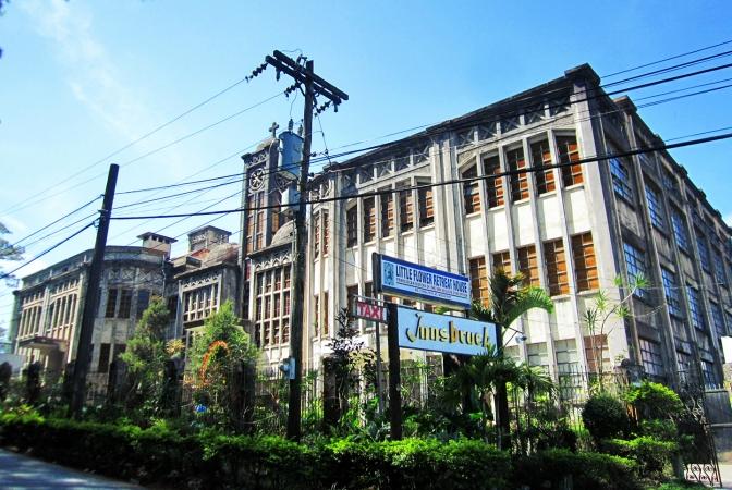 14 1950-1956 Little Flower Novitiate, Baguio City co Wikipedia