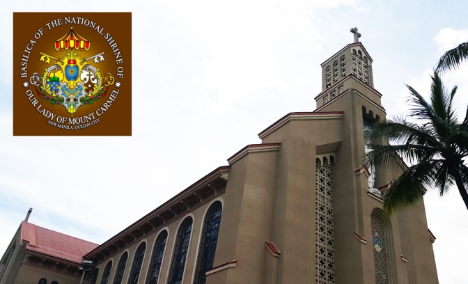 04 1964 Minor Basilica of the National Shrine of Our Lady of Mount Carmel, New Manila