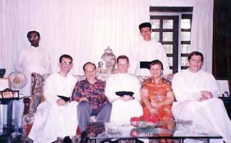 1997 SSPX Priests at Atty Dominguez' Home