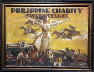 1938 Pablo Amorsolo - Philippine Charity Sweepstakes, National Museum of the Philippines