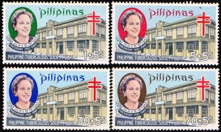 1970 Philippine Tuberculosis Society stamps, Julia Vargas de Ortigas (1881-1969)
