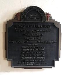 1938 Philippine Tuberculosis Society Inc., Board of Directors