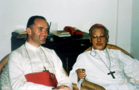 1995 Bishop Richard Nelson Williamson and Bishop Salvador Lazo