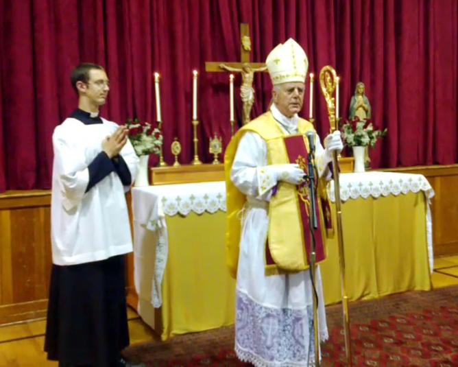 Bishop Richard Nelson Williamson (born 1940)