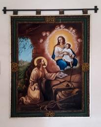 Saint Ignatius of Loyola's vision in Manresa, Spain (1522-1533)
