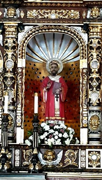 Altar, Santo Domingo Félix de Guzmán (1170-1221)