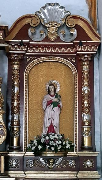 Altar, Saint Lucia of Syracuse (283–304)