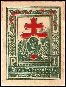 1910 Philippine Tuberculosis Society stamp