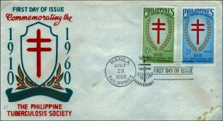 1960 Philippine Tuberculosis Society stamps IV