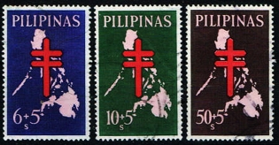 1963 Philippine Tuberculosis Society Stamps