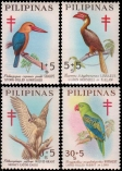 1967 Philippine Tuberculosis Society stamps