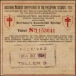 1934 Philippine Tuberculosis Society PCSO ticket