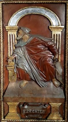 Altar Door, Ezechiel