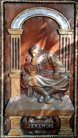 Altar Door, Jeremias