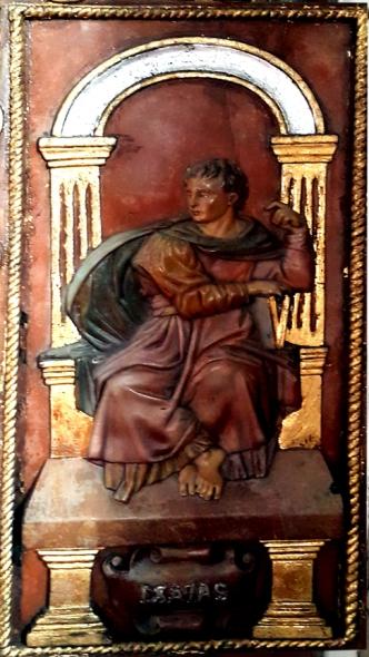 Altar Door, Isaias