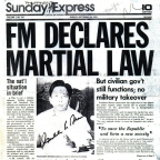 The Rise against Marcos and the EDSA People Power Revolution in Newspaper Headlines