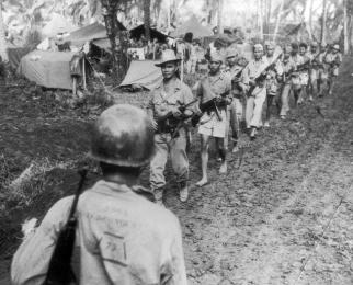 1945 Filipino Guerrillas in Luzon, World-War II