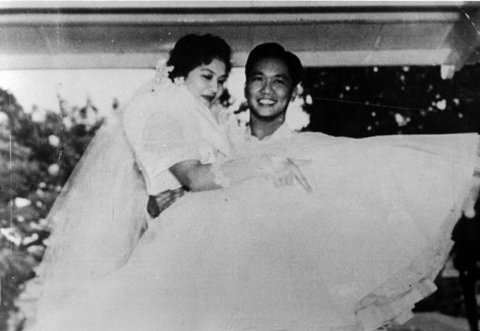 06 1954 Ferdinand and Imelda Marcos Wedding