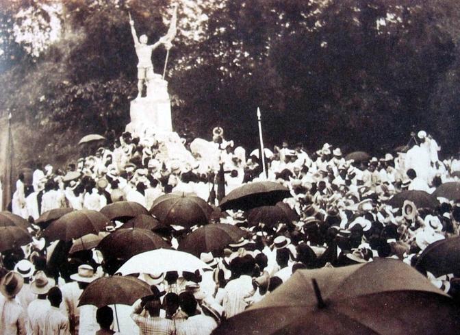 07 1911 Ramon Lazaro Martiniez - Monumento sa mga Bayani ng 1896, Balintawak