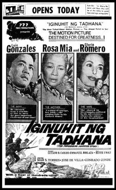 1965 Iginuhit ng Tadhana The Ferdinand Marcos Story