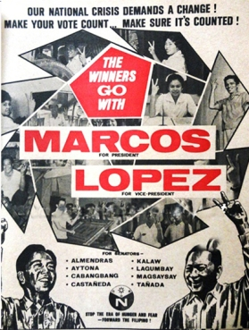 1965 Marcos-Lopez Poster