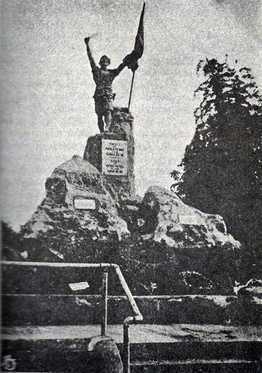 1911 Ramon Lazaro Martiniez - Monumento sa mga Bayani ng 1896, Balintawak