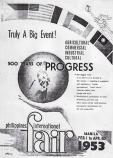 1953 Philippine International Fair Poster