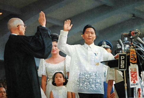 1969 Inauguration of Pres. Ferdinand Marcos