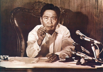 1972 Pres. Marcos declares Martial Law over the Philippines