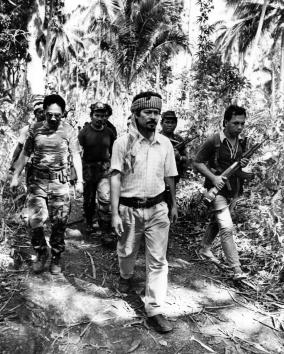 Nur Misuari and MNLF Cadre