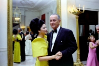 1966 Imelda Marcos and Pres. Lyndon Baines Johnson