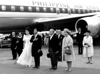 1966 Marcos with Japanese Emperor Hirohito