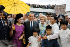 1969 Richard Nixon with the Marcos family