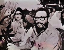 1977 Cuban President Fidel Castro and Imelda Marcos