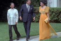 1982 The Marcoses with USA President, Ronald Reagan